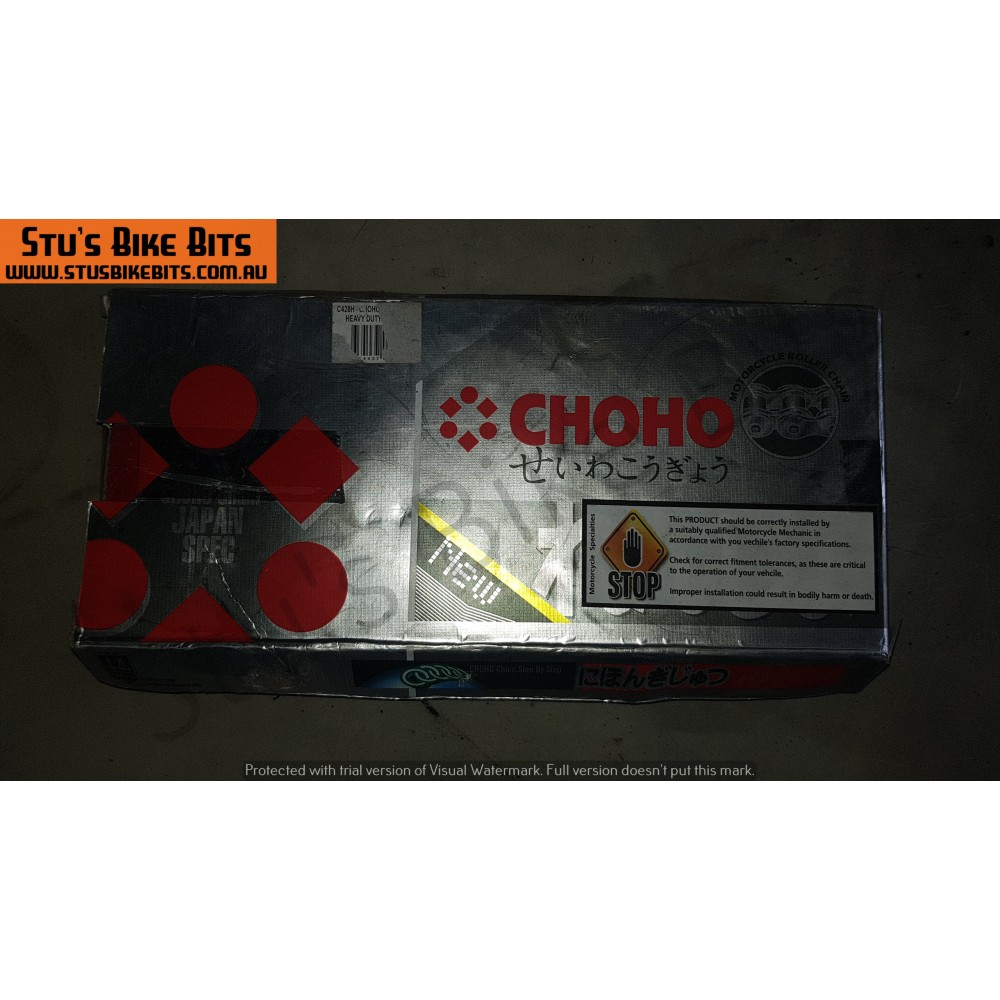 CT110 - 428 Choho 104 Link Chain NEW