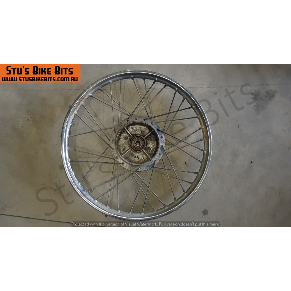 CT110 - Front Rim buckled #1