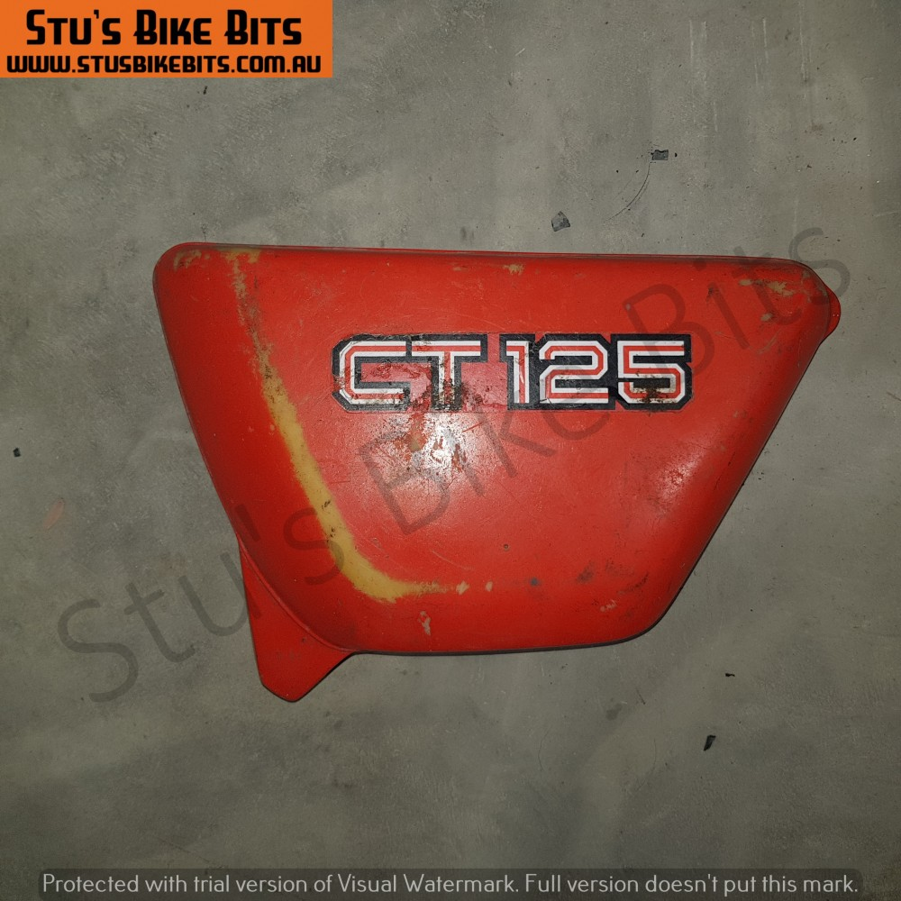 CT125 - Side Cover LH