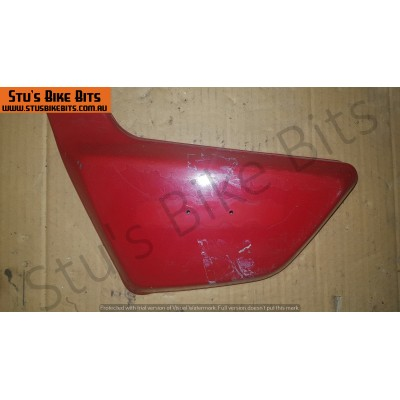 Z250 - LH Side Cover RED