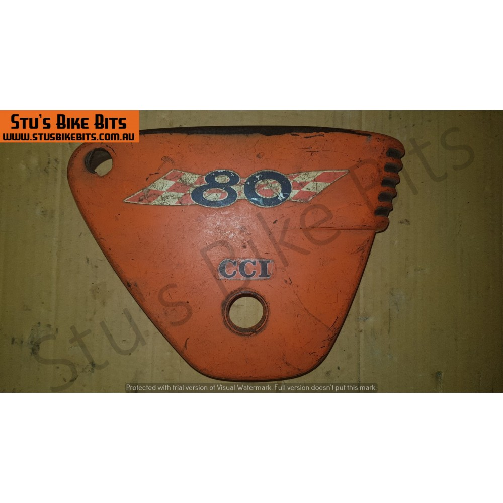A80 - LH Side Cover Oil Tank Cover