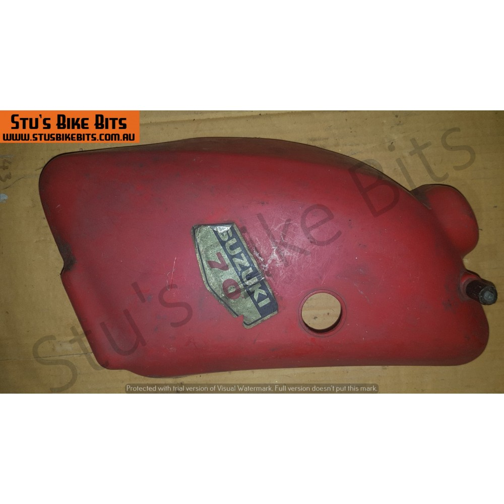 F70 - LH Side Cover RED