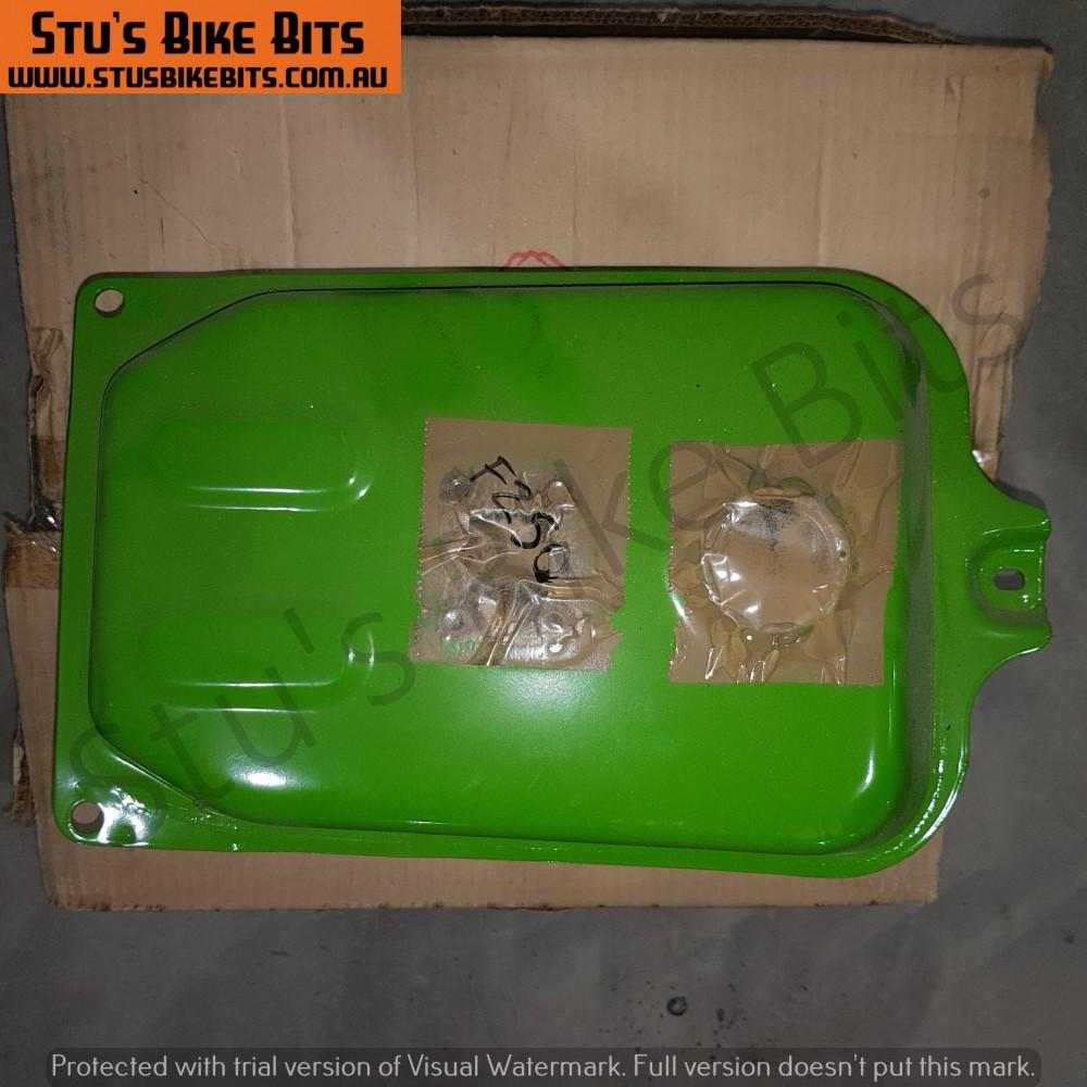 FZ50 - Petrol Tank Fuel Tank Green