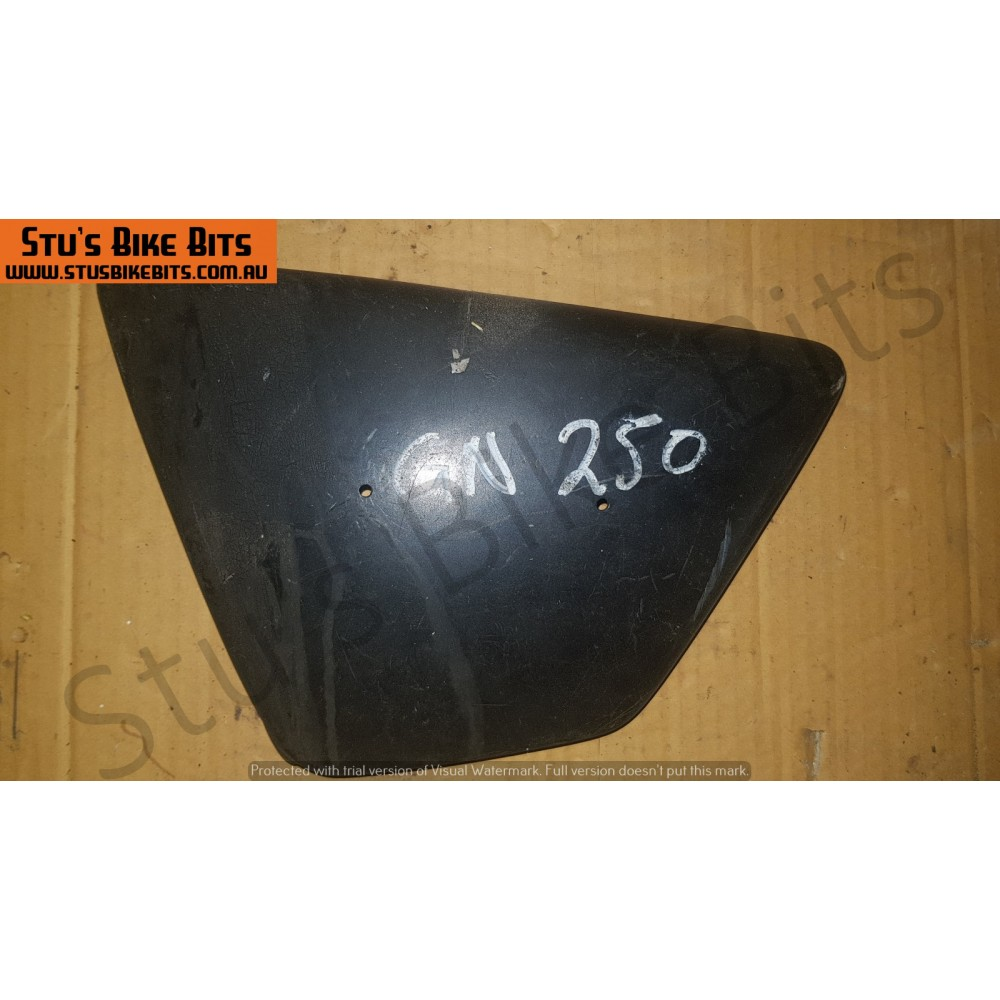 GN250 - LH Side Cover BLACK