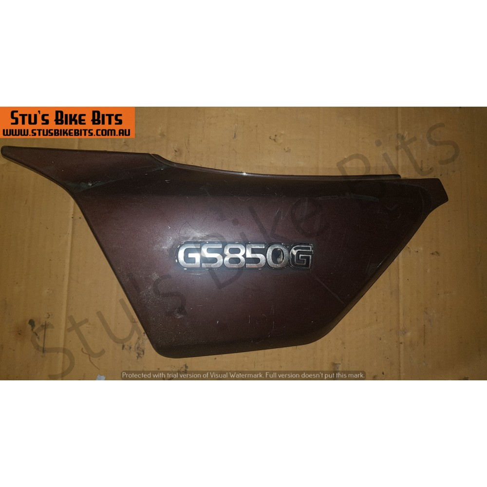 GS850G - LH Side Cover BROWN