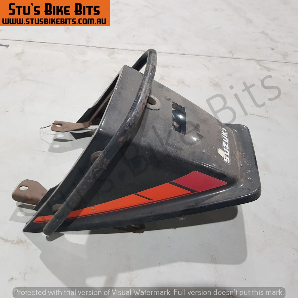 GSX250 - Rear ducktail fairing with grab handle BLACK