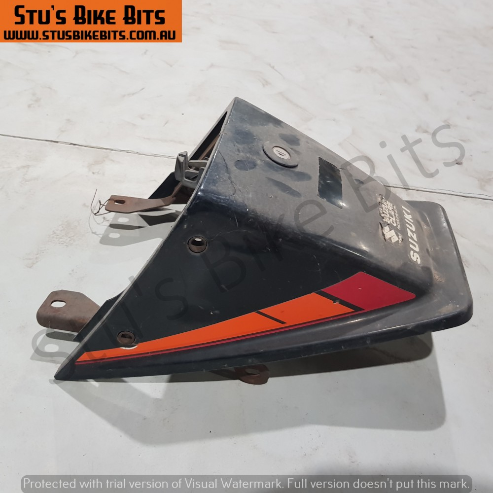 GSX250 - Rear ducktail fairing BLACK