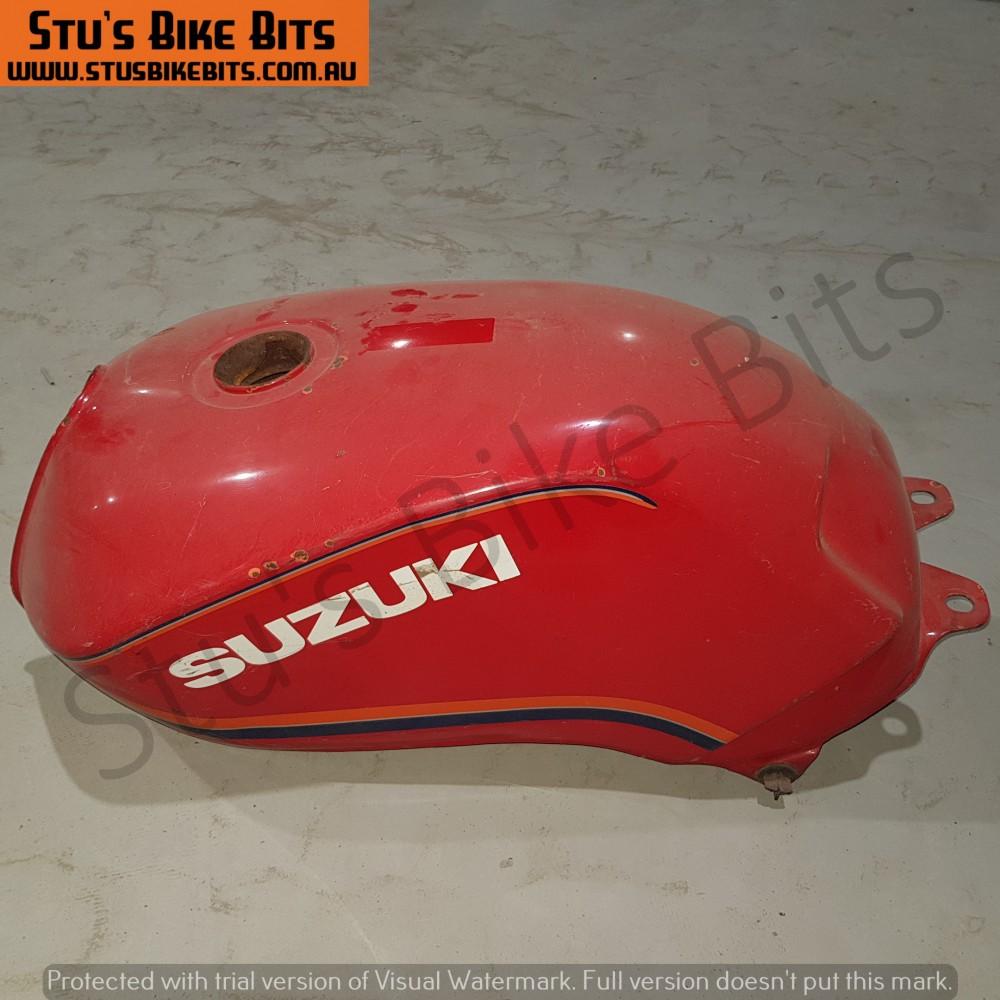 GSX400F - Petrol Tank Fuel Tank RED