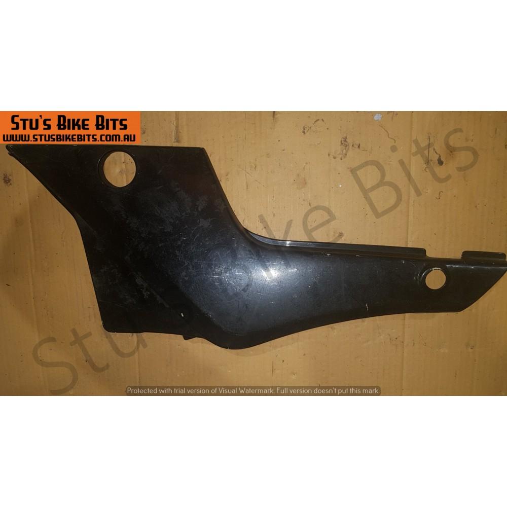 GSX550 - LH Side Cover BLACK