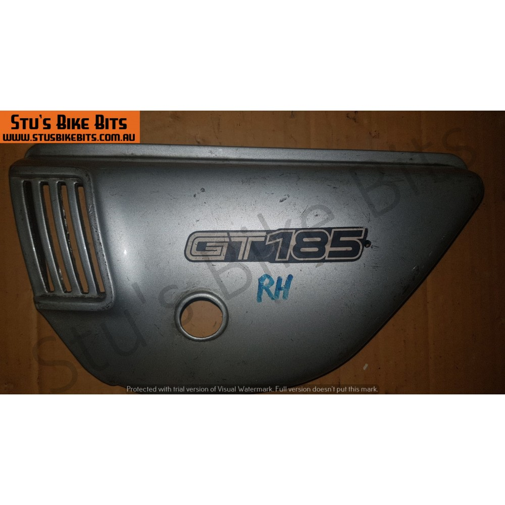 GT185 - LH Side Cover SILVER #1