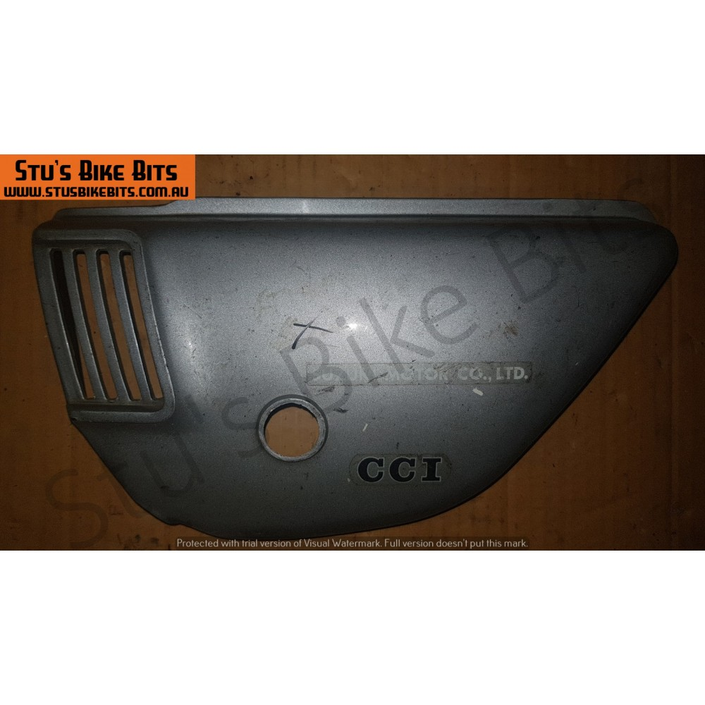 GT185 - LH Side Cover SILVER #2