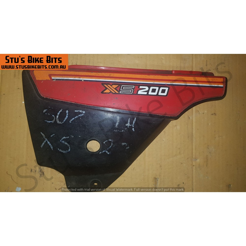 GT200 X5 - LH Side Cover RED