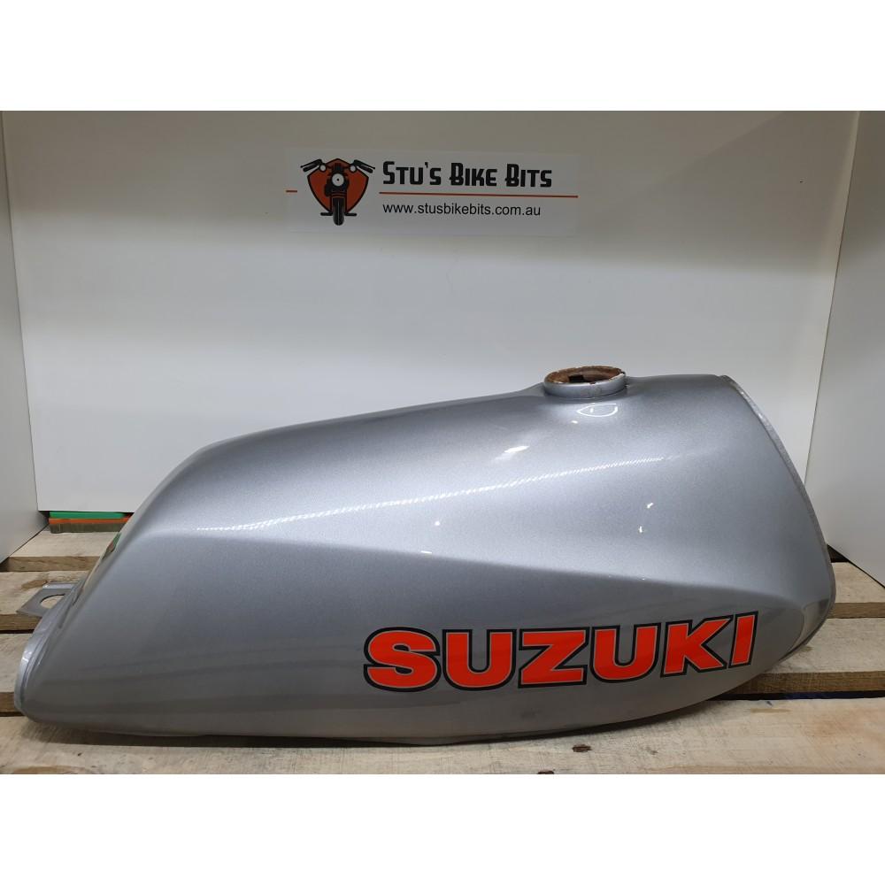 SP370/400 -  Petrol Tank Fuel Tank Silver NOS