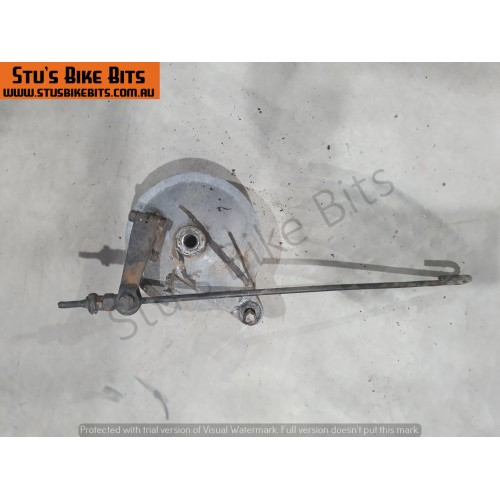 GT80 - Rear brake hub with linkage